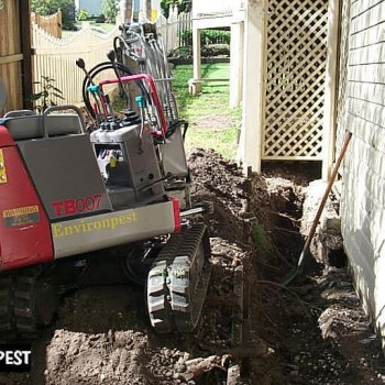 Termite-treatment-excavator